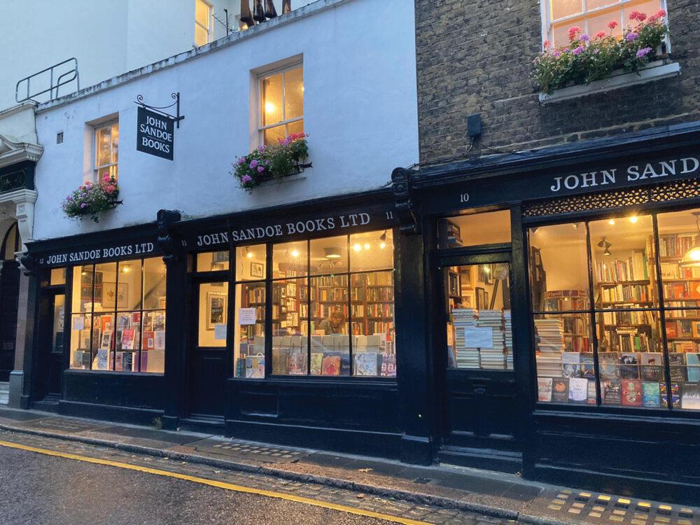 John Sandoe Books, An Englishman's Commonplace Book: Book Launch