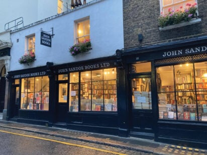 John Sandoe Books, An Englishman's Commonplace Book: Book Launch