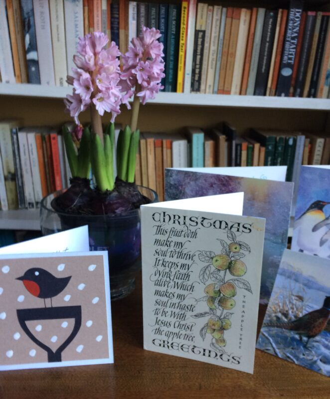 Christmas cards | Slightly Foxed Editors' Diary