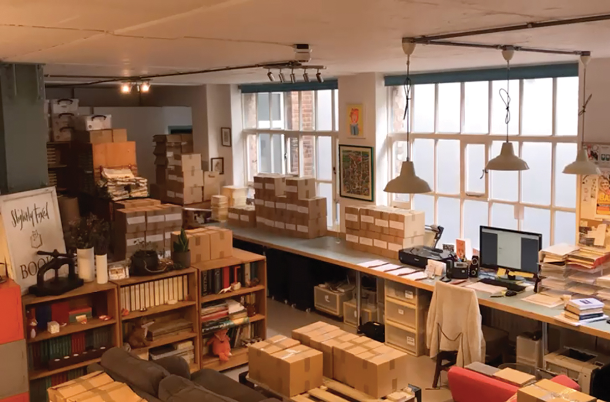 Hoxton Square, after delivery day | Slightly Foxed Editors' Diary