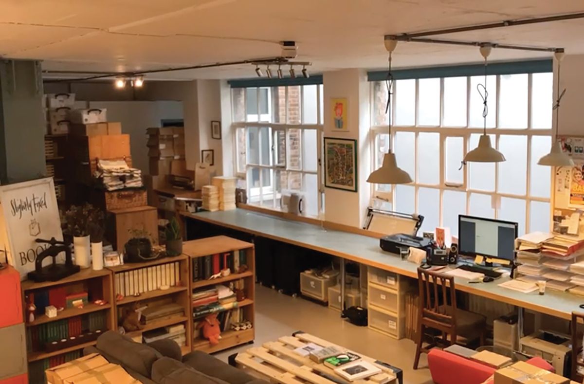 Hoxton Square, before delivery day | Slightly Foxed Editors' Diary