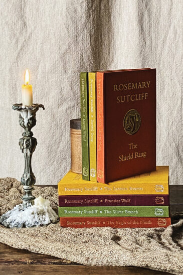 A Set of Rosemary Sutcliff Novels - Slightly Foxed Cubs