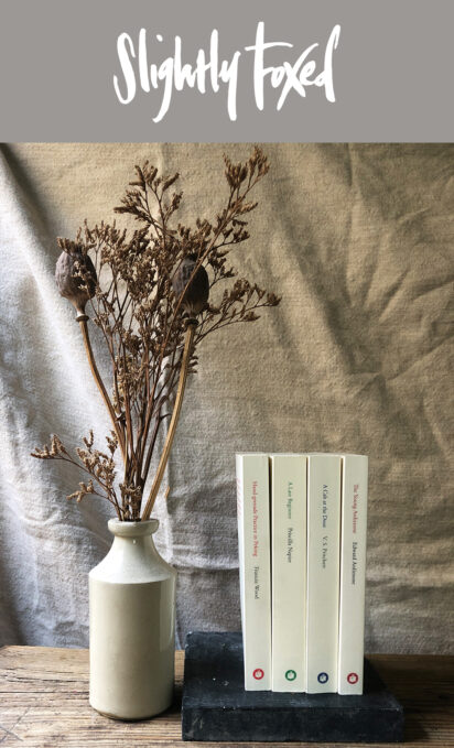 Pocket-sized and elegantly produced | Slightly Foxed Paperbacks