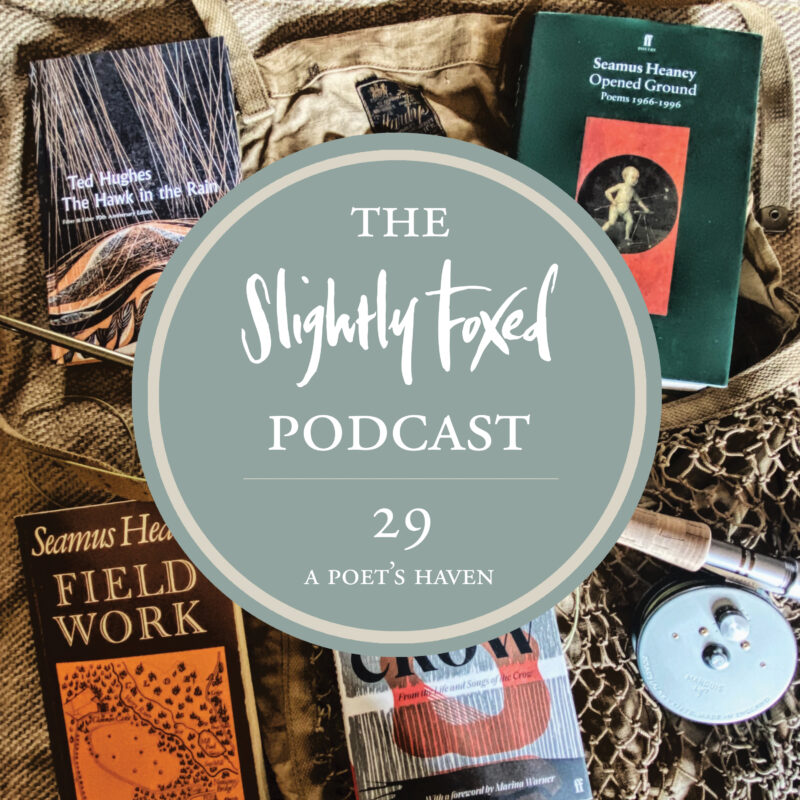 Foxed Pod Episode 29 | A Poet's Haven