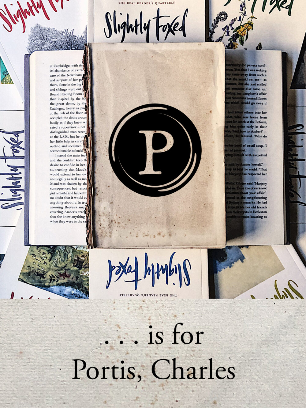 P is for Portis, Charles | From the Slightly Foxed archives
