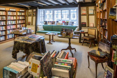 The White Horse Bookshop: Slightly Foxed Bookshop of the Quarter Spring 2021