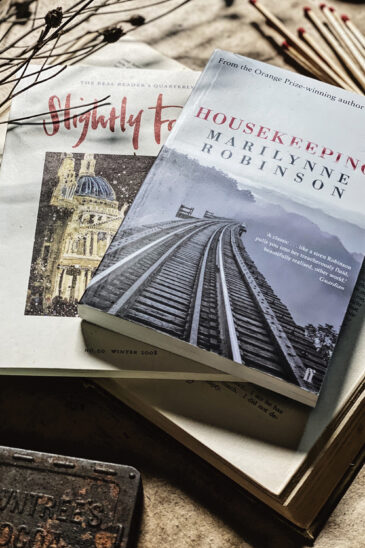 Marilynne Robinson, Housekeeping, Slightly Foxed Issue20