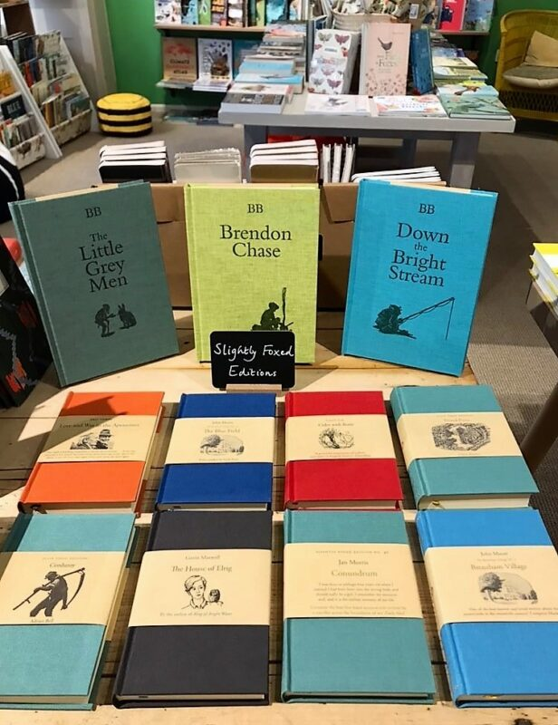 SF editions in Little Toller Books, Beaminster