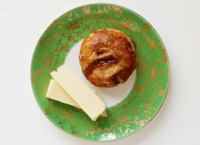 Eccles cake from Laurie Lee's Cider with Rosie