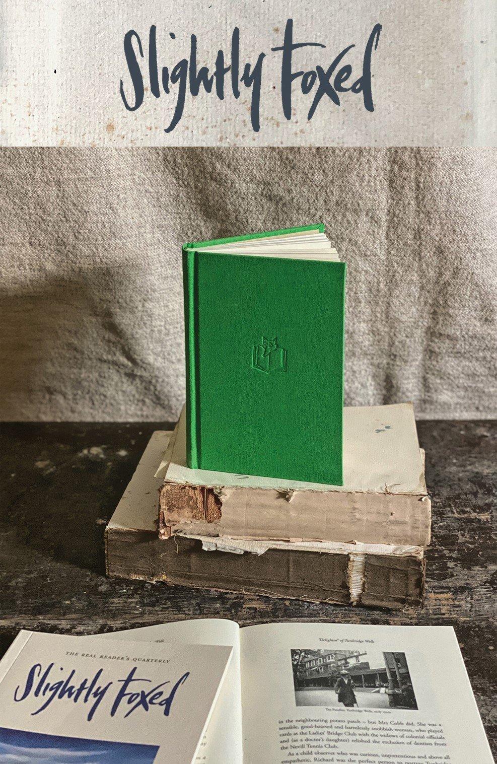 Richard Cobb, Still Life   From the Slightly Foxed bookshelves