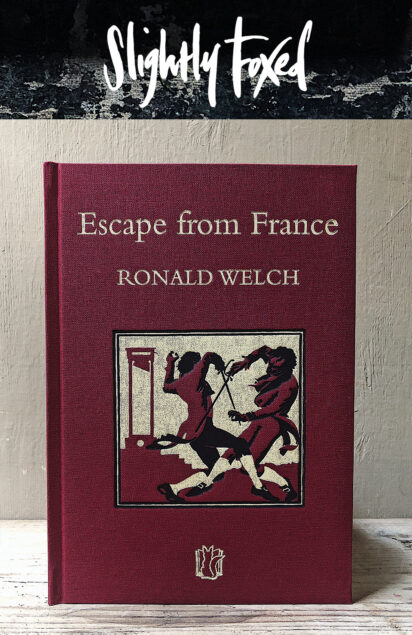 Ronald Welch, Escape from France | From the Slightly Foxed Cubs bookshelves