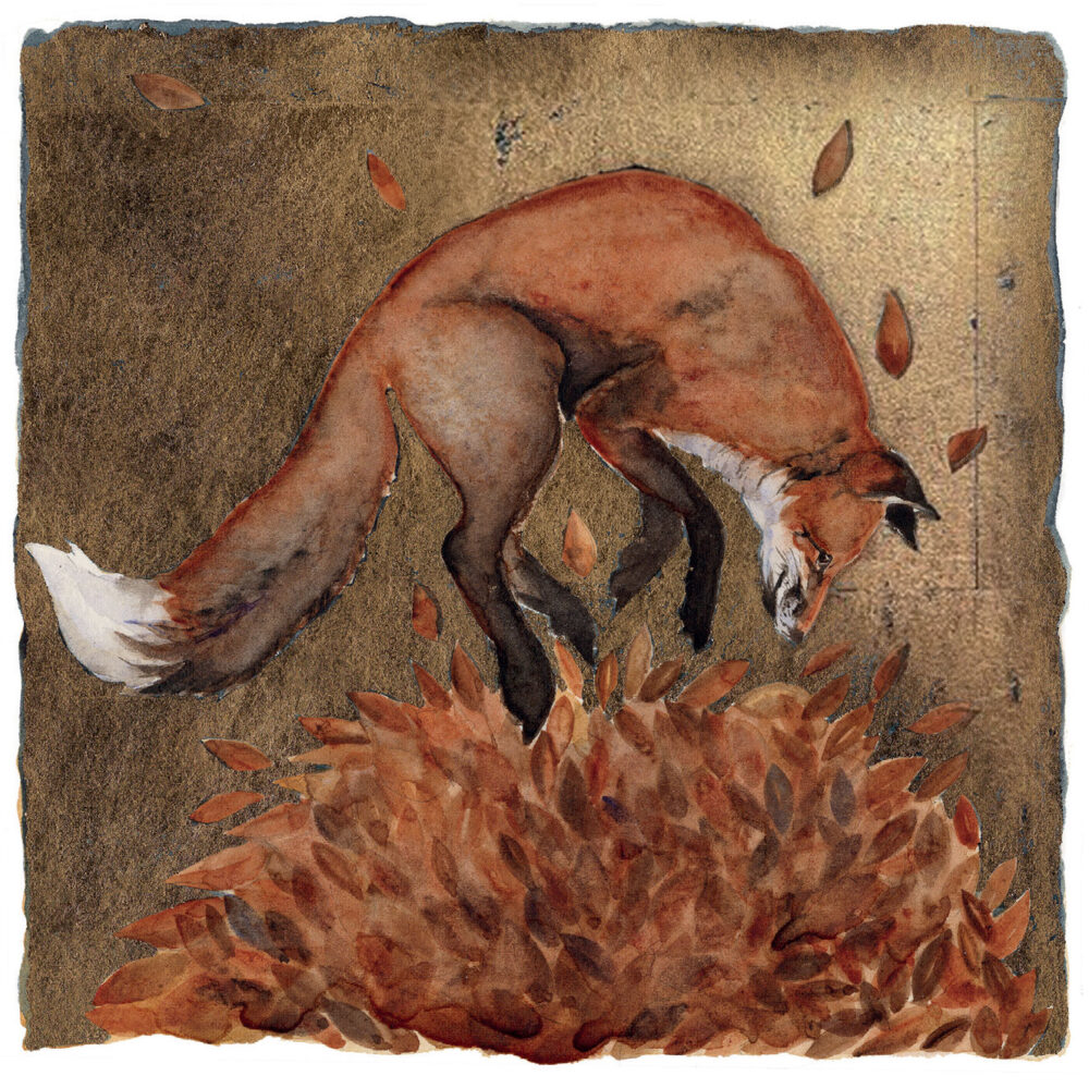 Slightly Foxed Issue 71, Jackie Morris, 'Spring into Autumn'