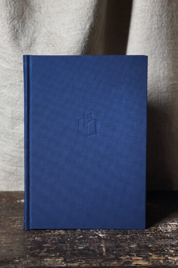 Slightly Foxed Notebook - Navy, Large