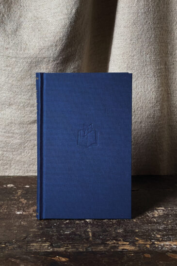 Slightly Foxed Notebook - Navy, Small
