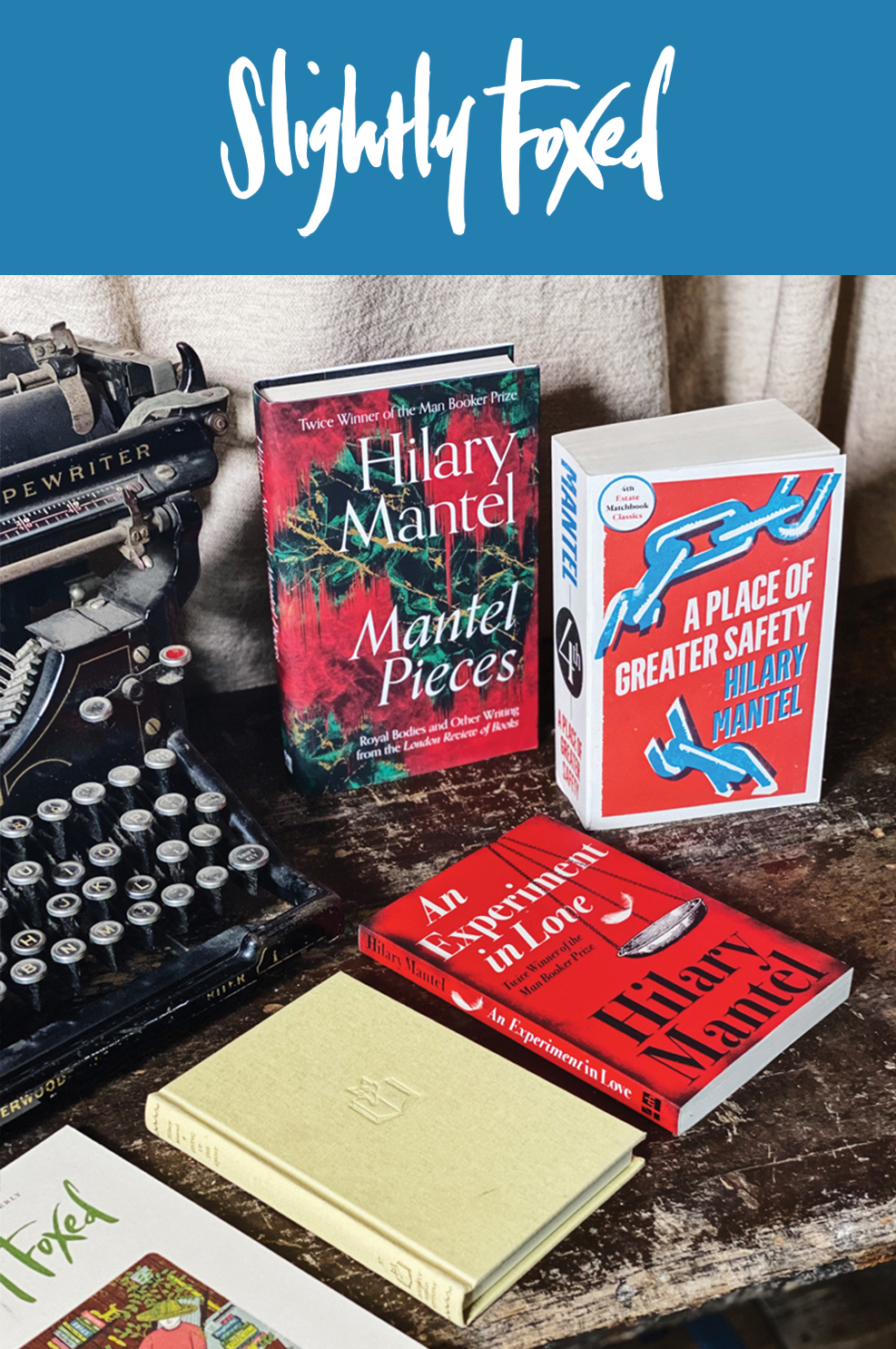 Hilary Mantel Book Bundle   From the Slightly Foxed bookshelves