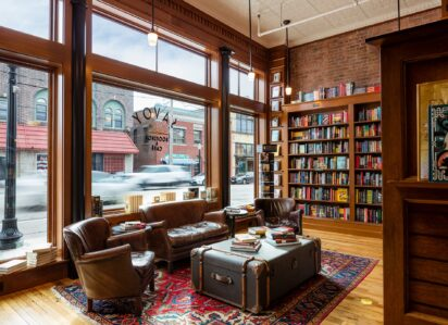 Savoy Bookshop and Cafe | USA | Slightly Foxed stockist