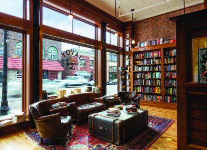 Slightly Foxed Bookshop of the Quarter, Autumn 2021 | Savoy Bookshop & Cafe